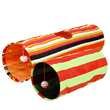 Collapsible Fabric Pet Activity Tunnel