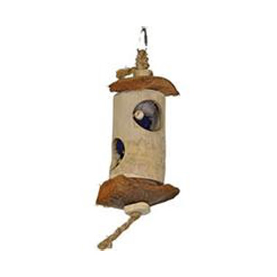 Java Wood Surprise Lantern Bird Toy