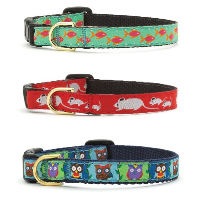 Up Country Designer Fashion Cat Collars