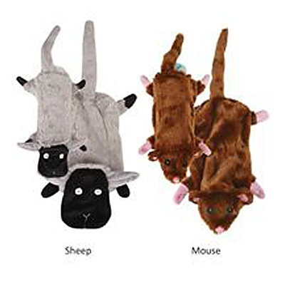 Zanies Barnyard Unstuffies Dog Toy