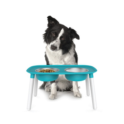 Messy Mutts Adjustable Height Raised Pet Feeder