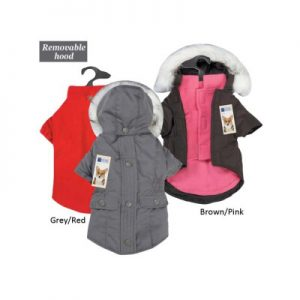 Eastside Collection Multiple Season Versatile Dog Coat