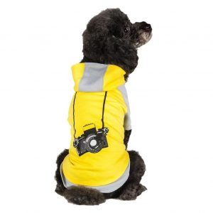 Blueberry Pet Cotton Dog Camera Hoodie