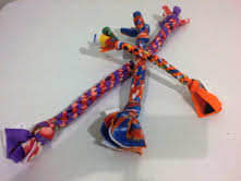Doug Tugs Braided Fleece Tug Toys