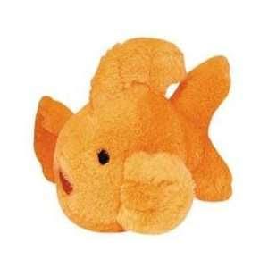 Multipet Look Whos Talking Goldfish Plush Dog Toy