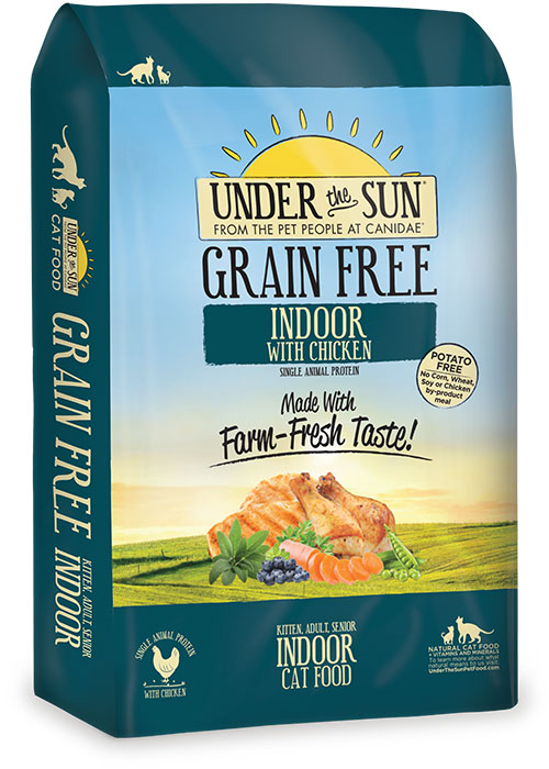 Grain Free Range Chicken Cat Food