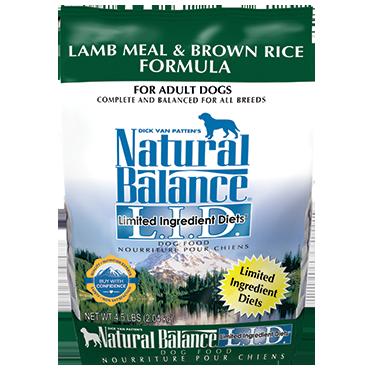 Lamb Meal Brown Rice Formula