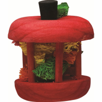 Superpet Carousel Wood Apple Chew Toy