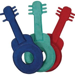 MuttNation Suede Guitar Dog Toy