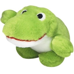 Multipet Look Whos Talking Dog Toy Frog