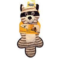 Pets Companion Snag-ables Door Floor Scratcher Raccoon Cat Toy