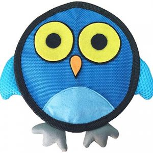 Hyper Pet Fire Hose Friends Owl Dog Toy
