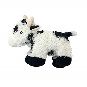 Multipet Look Whos Talking Dog Toy Cow
