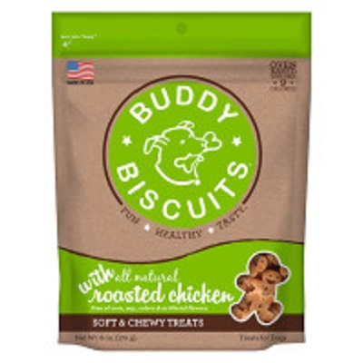 Buddy Biscuits Grain Free Chewy Roasted Chicken