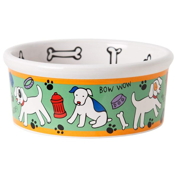 Signature Housewares Spot Dog Medium Bowl