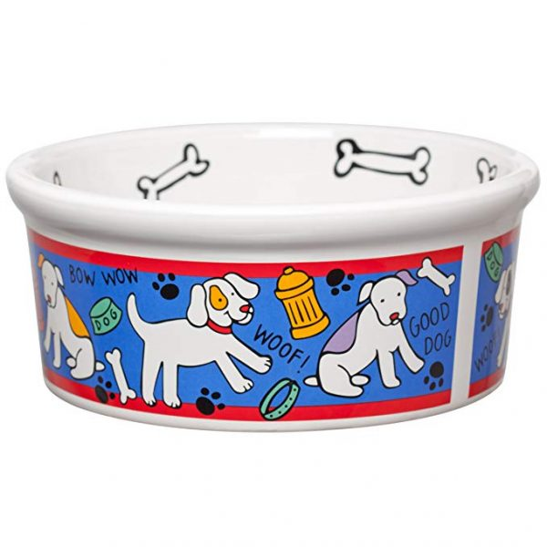 Signature Housewares Spot Dog Small Bowl