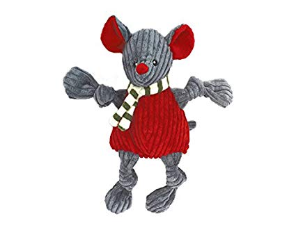 Huggle Katz Corduroy Holiday Mouse