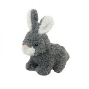 Multipet Look Whos Talking Dog Toy Rabbit