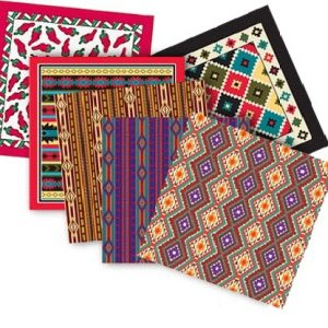 Tribal Patterns Pet Bandannas