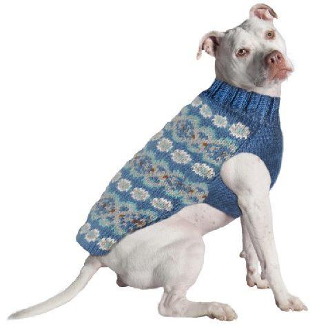 Chilly Dog Fairisle Teal