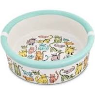 Signature Housewares Cat Town Cat Bowl