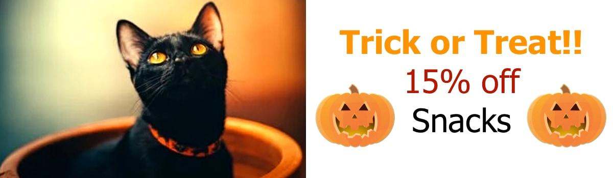 October 2020 Trick or Treat Sale