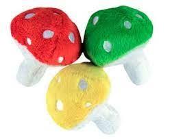 Loopies Mushroom Pet Toy